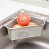 Kitchen Multi-purpose Basket Triangular Sink Drain Storage Suction Cup