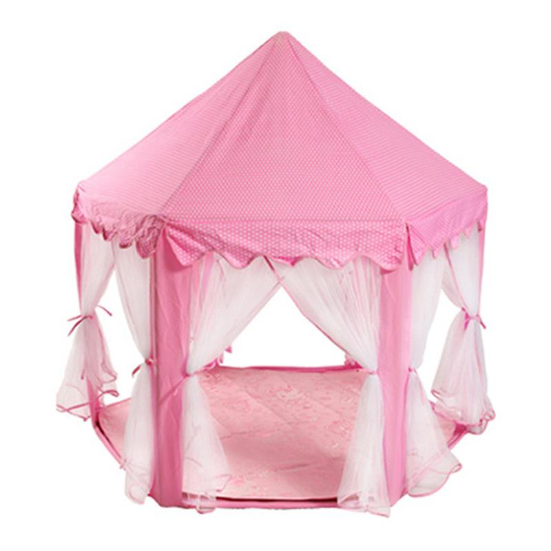 Portable Princess Castle Cute Playhouse Children Kids