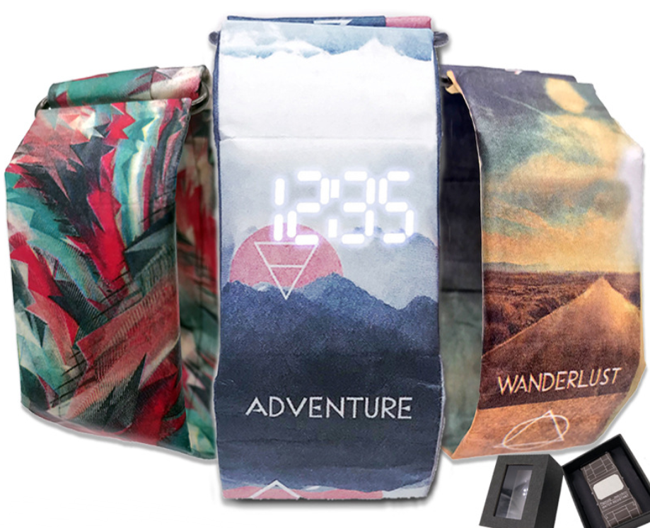 Creative Waterproof Paper Watch