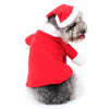 Funny Santa Claus Pet Costume Dog Cat Clothes