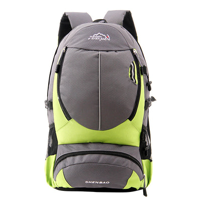 Manufacturers wholesale and customize outdoor mountaineering bags, leisure sports backpack, student bags, riding bags, unit gifts