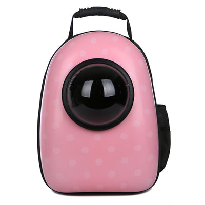 Pet space cat bag chest bag transparent backpack