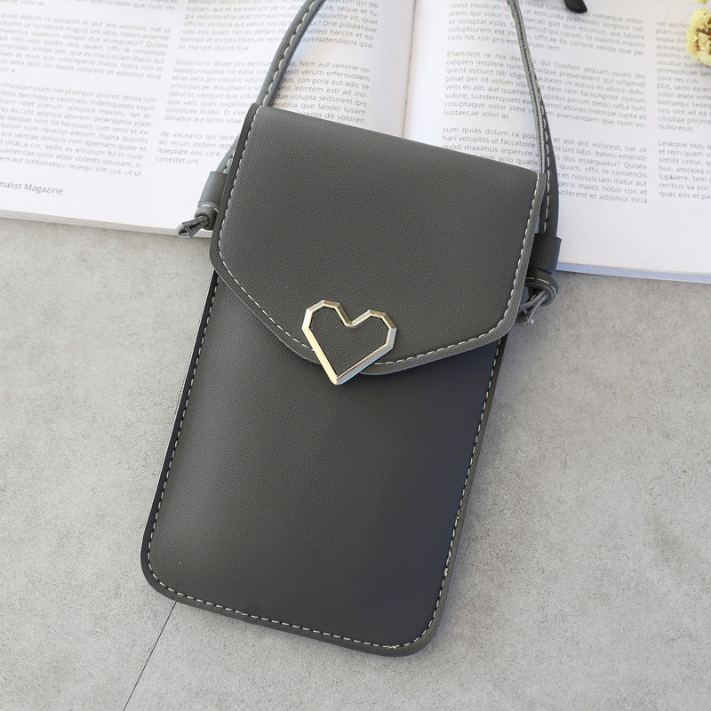 Crossbody Touch Screen Mobile Phone Bag Mini Bag