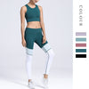 Women Sports Active Wear Fitness Workout Set Jogging Suits Sport Bra Leggings