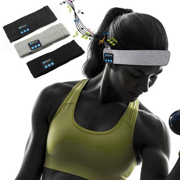 Wireless music headband for music sporter
