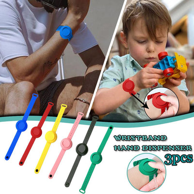 Portable Silicone Disinfectant Bracelet