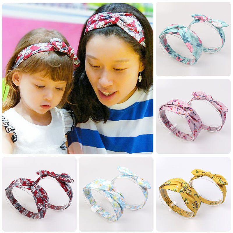 2pcs Baby&Mommy Rabbit Ear Headband