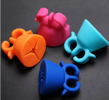 Silicone Figner Nail Bottle Holder