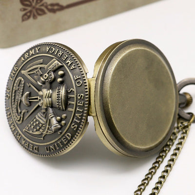 Vintage large cheongsam pattern necklace pocket watch Men's and women's antique large pocket watch
