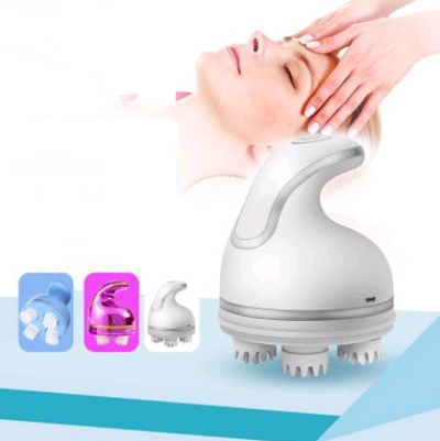 Electric Head Massager 3D Cervical Vertebra Massage Instrument Physiotherapy Instrument Dragon Claw Hand-eye Massage Instrument