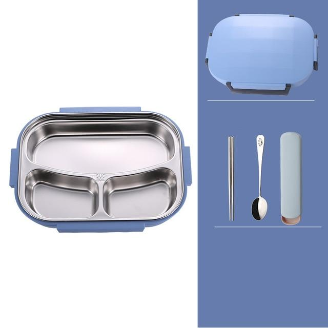 Stylish leakproof Japanese style stainless steel lunch box