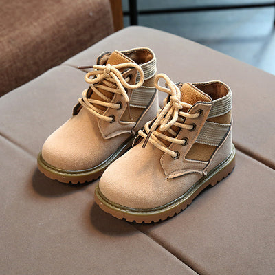 Children's lace-up Martin boots
