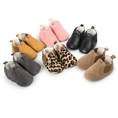 Winter 2020 small leather shoes baby shoes shoes soft soled shoes boots Cotton Baby Toddler shoes 5288