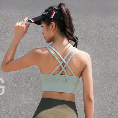 Cross Yoga Beauty Back Sports Bra