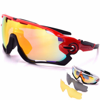 Outdoor riding glasses explosion models Europe and the United States bicycle sports sunglasses / 9270 three PC