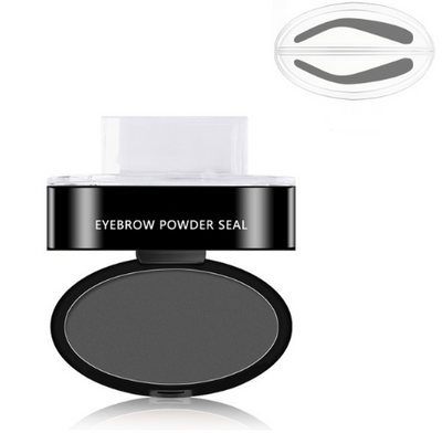6g Eyebrow Powder Seal Waterproof Eyebrow Stamp Eyebrow Shadow Set Natural Shape Brow Stamp Powder Palette Delicated
