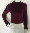 6-color full length sleeve high collar short sexy sweater