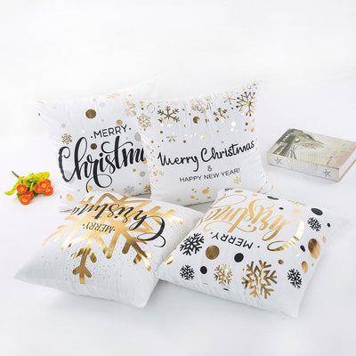 Christmas Gold Stamping Pillowcase