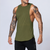 Plain bodybuilding sleeveless vest men