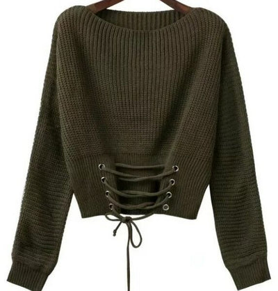 Women's short sweater