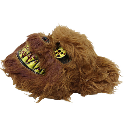Halloween plush mask