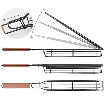 BBQ Grill Mesh Stainless Steel Tools Kitchen Accessories
