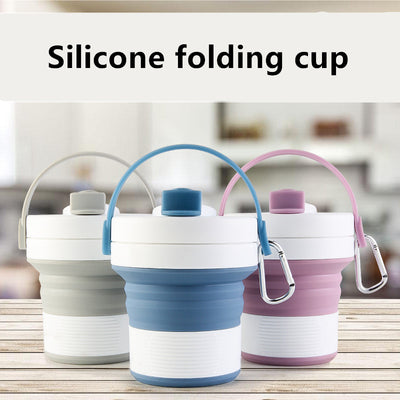 Portable Silicone Folding Coffee Cup