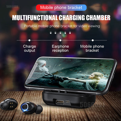 Wireless Bluetooth Earphones Waterproof