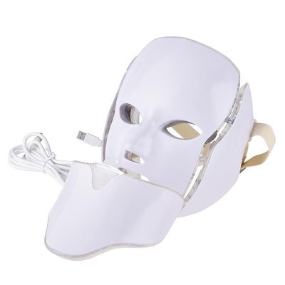 7 Colors LED Light Therapy Facial Mask