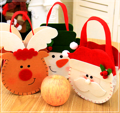 Christmas Decoration 3D Creative Gift Gift Candy Bag Children's Festival Supplies