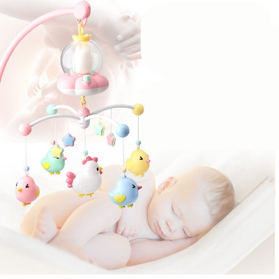 Baby bedside bell with light