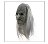 Latex wig mask Halloween horror wig
