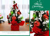 Christmas Ornaments Tree 20cm Mini Christmas Decoration Tree Christmas Day Mall Decoration Desktop Ornaments Small Tree