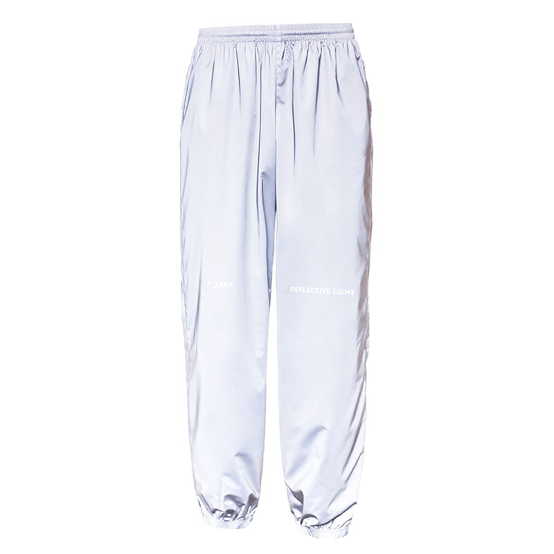 Night running beam foot pants men and women loose casual pants country tide hip hop sports pants thin section