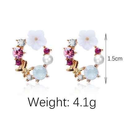 Sweet flower earrings