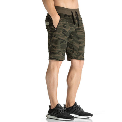 Muscle fitness breathable camouflage for men outdoors training