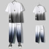 Ice silk short sleeve sports suit