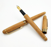 Bamboo pen bamboo pen pen ball pen lettering LOGO customer gift hard pen neutral bamboo pen