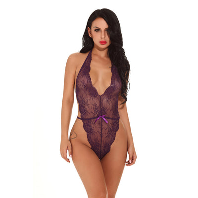 Sexy lingerie European and American bodysuit