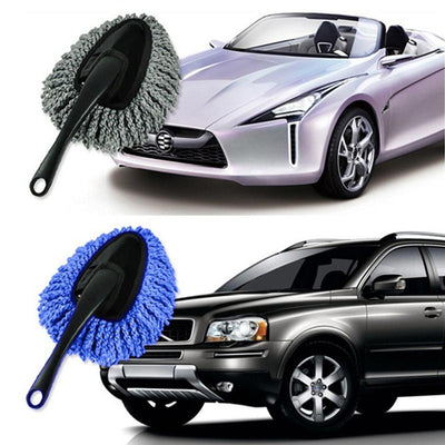 DETACHABLE MINI SOFT CAR CLEANING SUPPLIES