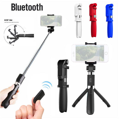 Extendable Tripod Wireless Selfie Stick