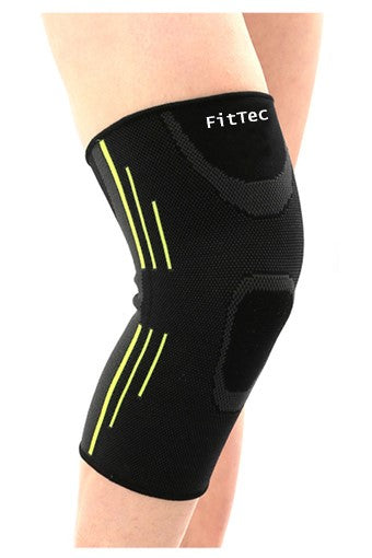 FitTec Pro Custom Athletic Knee Compression Sleeve for Injury Prevention, Knee stabilization, and Chronic Knee Conditions