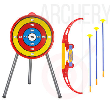 Classic Archery Shoot Game Set Develop Skill Novelties Toys for Young Kids