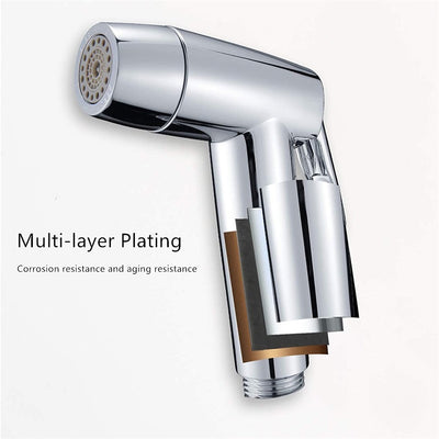 Hand Held Two Water Outlet Modes  Bidet Toilet Sprayer