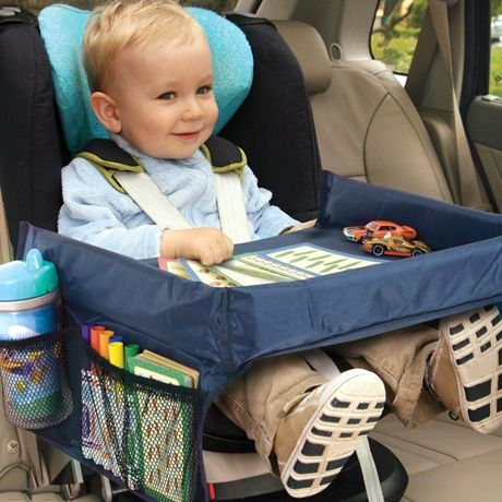 Children Car Organizer Waterproof Seat Tray