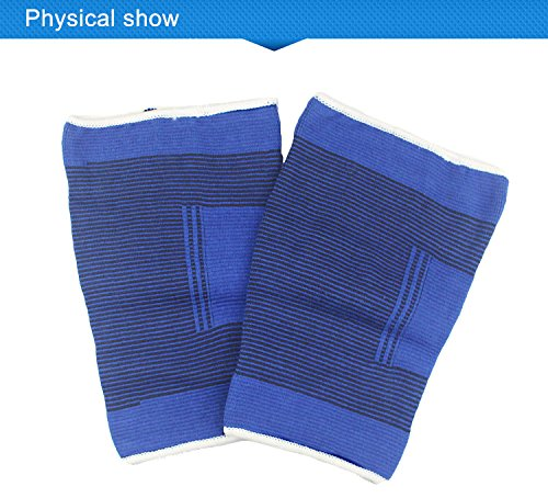 FitTec Pro Pair of Full Coverage Knee Support, Weightlifting