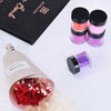 18 Colors Acrylic Nail Art Tips UV Gel Powder Dust Design Decoration 3D Manicure