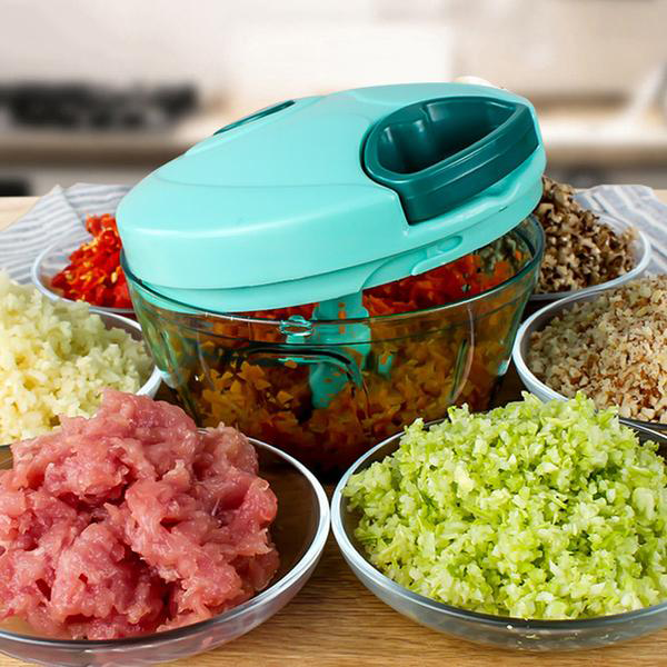 Multifunction High Speedy Chopper Manual Meat Grinder Kitchen Tools