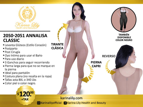 Annalisa Classic Capri (Karinalily Collection)