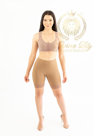 High Waist Colombian Shorts with Buttlifter (Karina Lily Collection)
